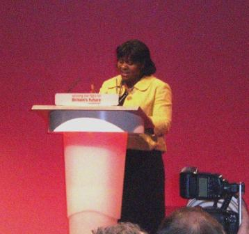 Speaking at Labour Party Conference