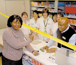 Opening Tilbury Asda Pharmacy