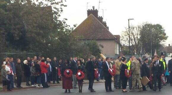 Remembrance Sunday, Tilbury