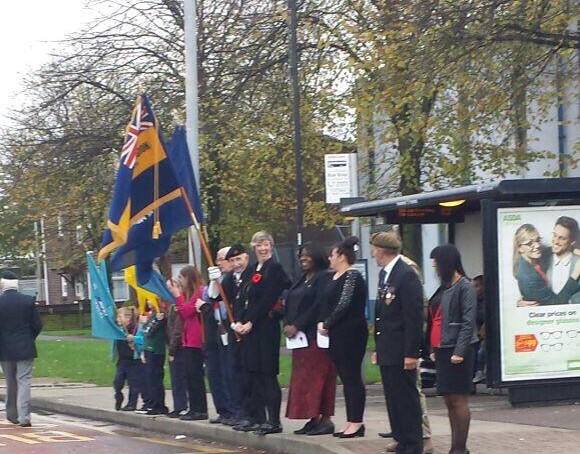 Tilbury Remembrance Sunday 2014a